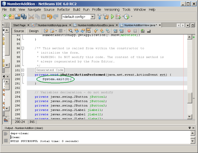 LAB-19: NetBeans GUI Builder (Matisse)