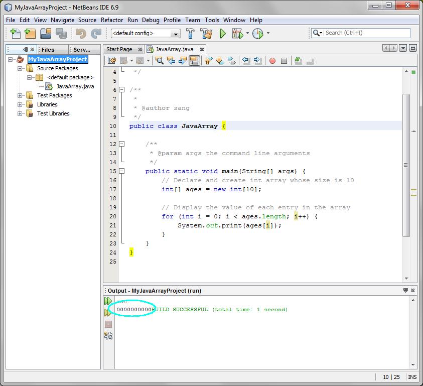 Lab 5 Arrays En Java