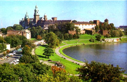 Wawel Castle. Photo from